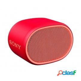 Sony SRS-XB01 Altavoz Inalámbrico Bluetooth Rojo