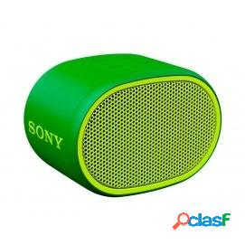 Sony SRS-XB01 Altavoz Inalámbrico Bluetooth Verde