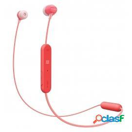 Sony WI-C300 Auriculares Inalámbricos Bluetooth Rojo
