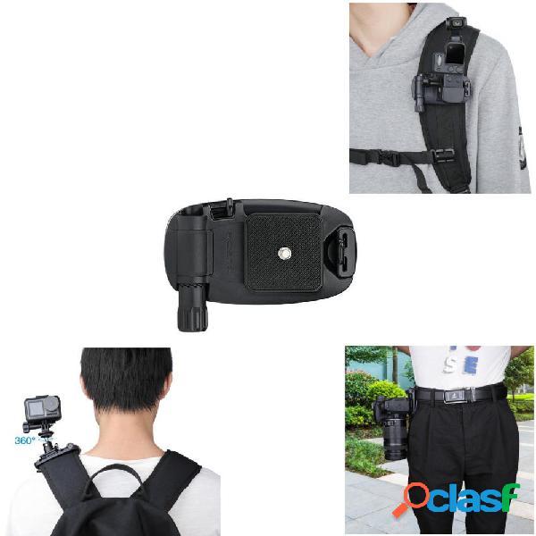 Soporte de montaje fijo para cámara Bolsa Clip de cintura