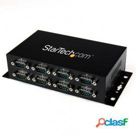 Startech Adaptador Hub USB a 8 Puertos Serie RS232