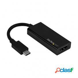 Startech Adaptador USB-C a HDMI 4K Negro