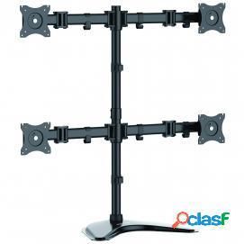 Startech Armbarquad Soporte Ajustable Vesa para 4 Monitores