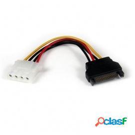 Startech Cable Adaptador Molex 4 Pines a SATA Hembra/Macho