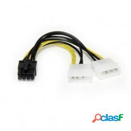Startech Cable Adaptador de Alimentación LP4 a PCI Express