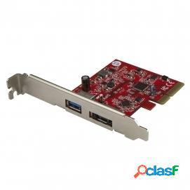Startech PEXUSB311A1E Tarjeta PCIe a USB 3.1/eSATA