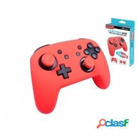 Subsonic Funda de Silicona Rojo Neón Nintendo Switch