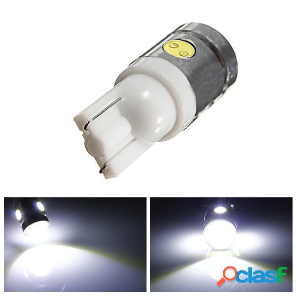 T10 194 168 W5W 2.5W 4-SMD coche LED LED lado de la luz de