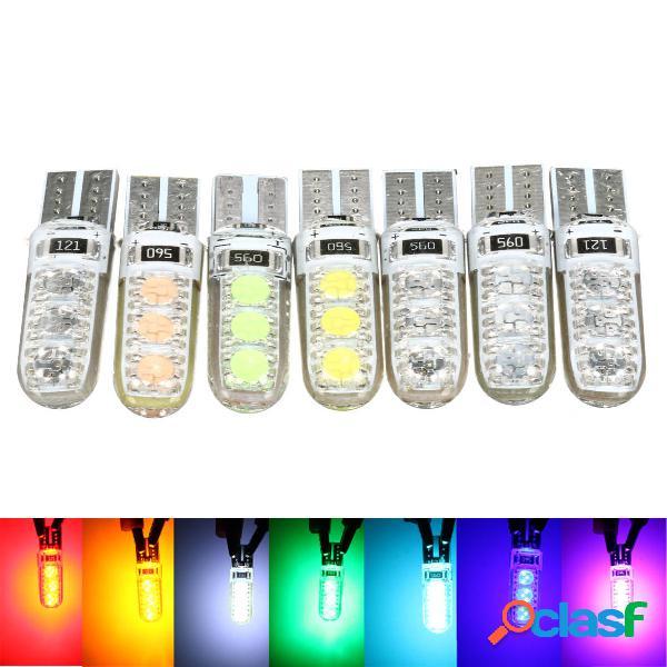 T10 194 501 W5W de silicona LED Lámpara de luz de placa de