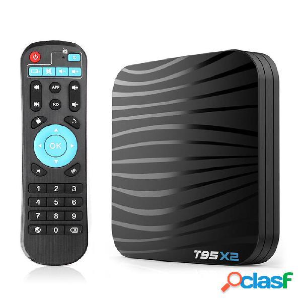 T95X2 Amlogic S905X2 4GB RAM 32GB ROM Android 8.1 4K TV Caja