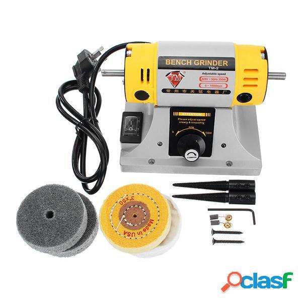 TM® 220V Mini Amoladora de Banco para Joyería Dental