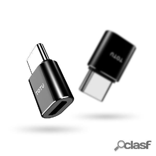 TOTU Micro USB Type C Convertidor Adaptador OTG para Huawei