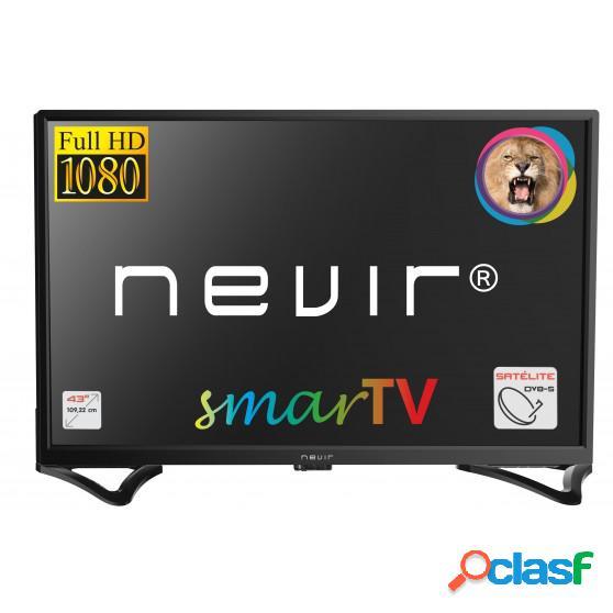 TV LED NEVIR NVR8050 43 Inch SmartTV