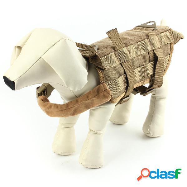 Táctica del ejército Perro Chaleco de caza Perro Chaleco