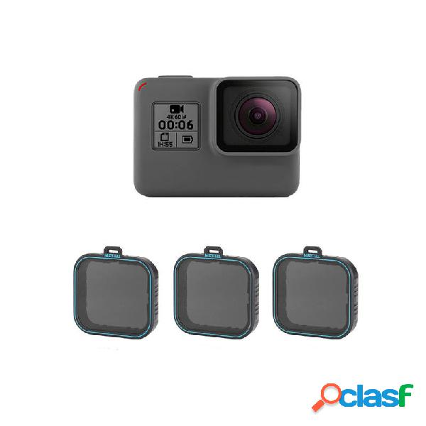 Telesin GP-FLT-ND1 ND4 / 8/16 Lente Filtro para GoPro Hero 5