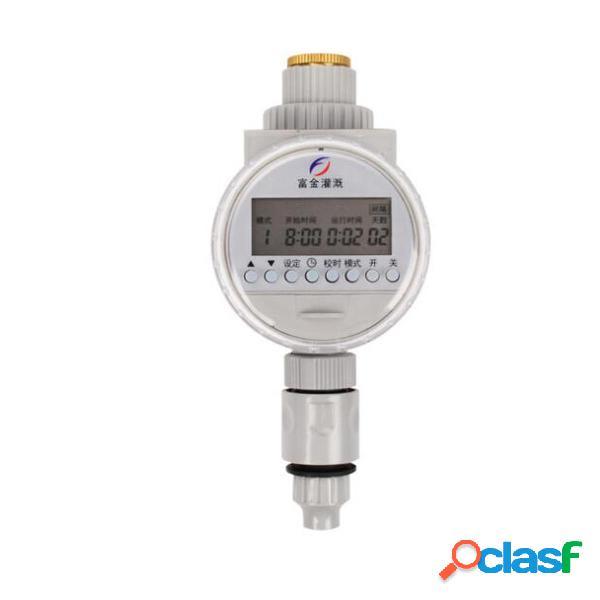 Temporizador de agua Solar Potencia LCD Controlador de riego