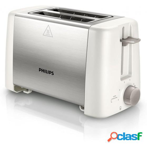 Tostador PHILIPS HD4825/00 Blanco Inox
