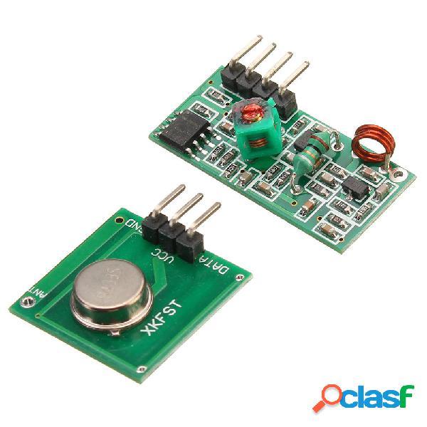 Transmisor de decodificador RF 3pcs 433Mhz con kit de