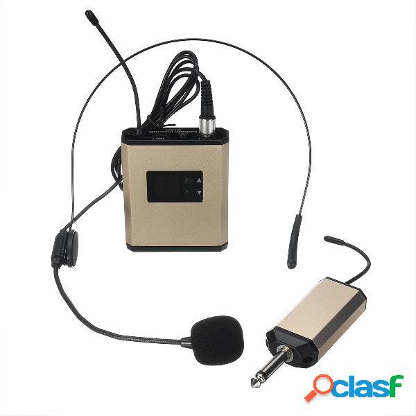 UHF 40 canales de micrófono inalámbrico Micrófono para