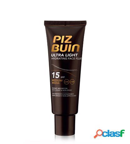Ultra Light. PIZBUIN Hydrating Face Fluid SPF 15 50ml