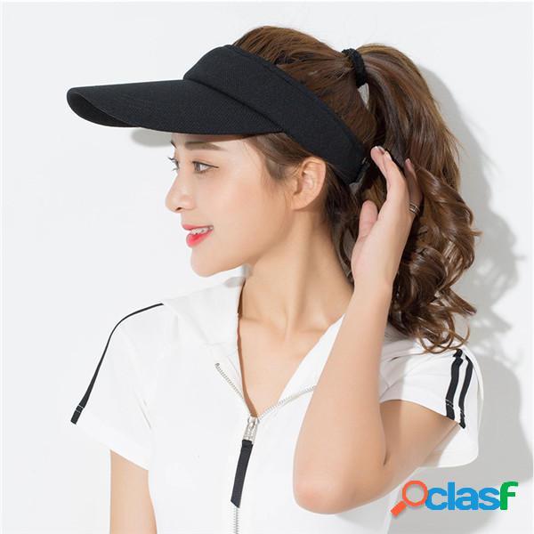 Unisex Men Super Absorbent Visor respirable Sombrero Lo
