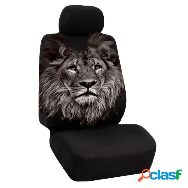 Universal Lion Dolphin Turtle Polyester Coche SUV Protector
