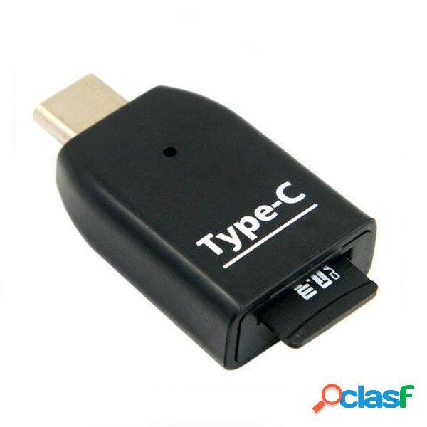Universal USB 3.1 Tipo-C a Adaptador de Lector de Tarjeta de