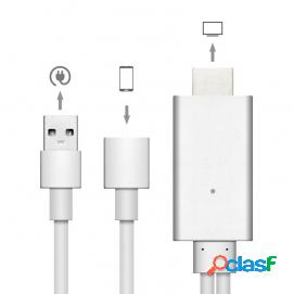 Unotec Adaptador de HDMI para iPhone y iPad