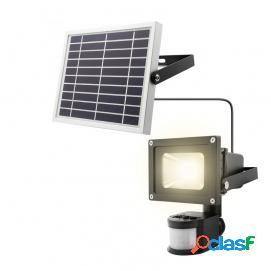 Unotec Foco LED Exterior con Sensor de Movimiento y Placa