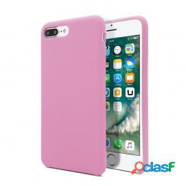 Unotec Funda Soft Rosa Oscuro para iPhone 7 Plus/8 Plus