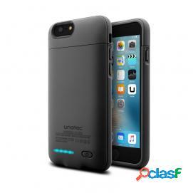 Unotec Power&Case Funda Negra con Batería para iPhone 6/6S