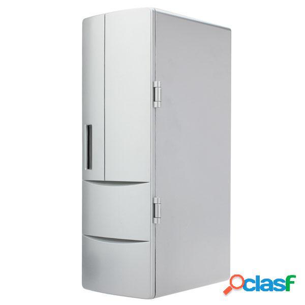 Usb mini portátil de refrigeración y calefacción nevera