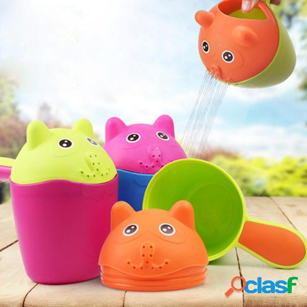 Vvcare BC-K58 Bebé de plástico Kids Cute taza de champú
