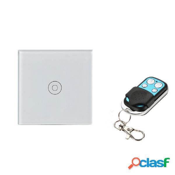 WiFi Smart Home Touch Interruptor de luz de pared RF433