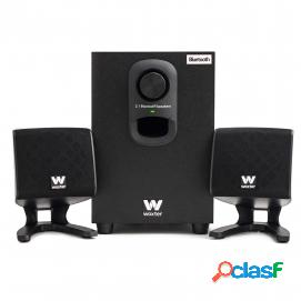 Woxter Big Bass 110R Altavoces Bluetooth 2.1 20W