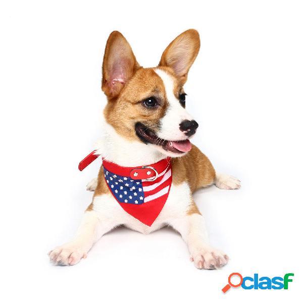 Yani HG-PLJ1 Animal doméstico Perro Collar de la bandera