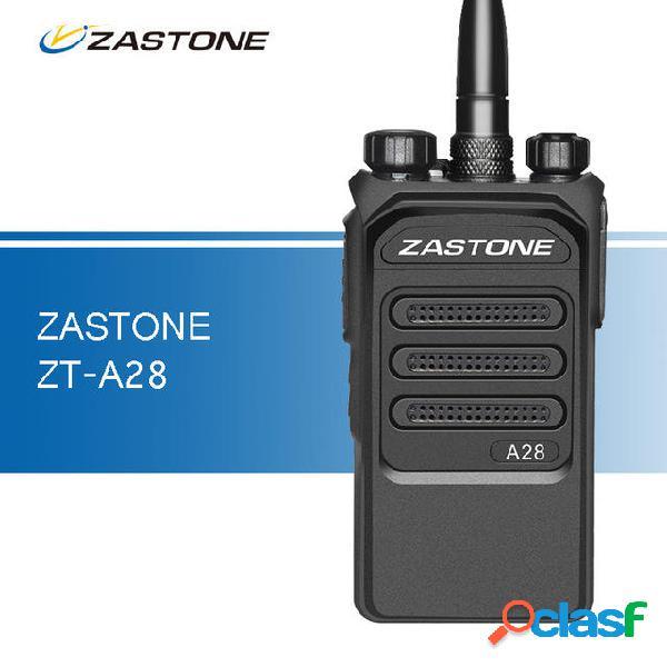 ZASTONE A28 10W Profesional Walkie Talkie UHF 400-480MHz