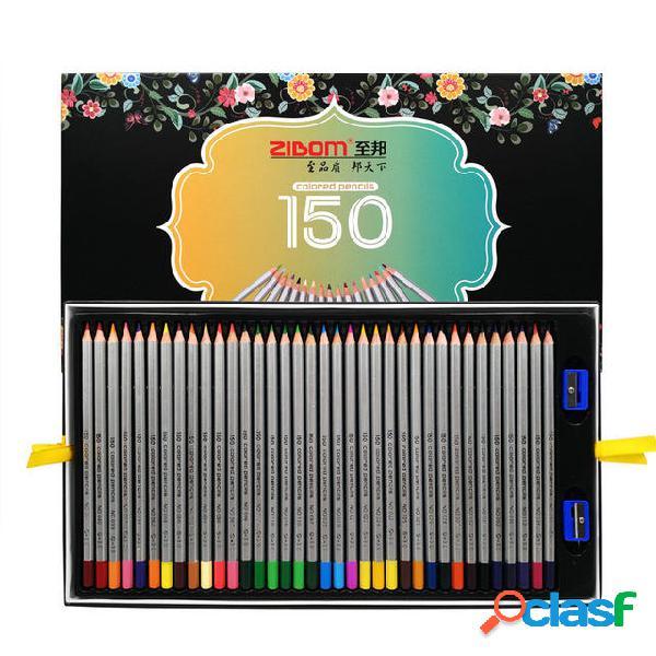 ZIBOM P-150 Conjunto de lápices de colores de alta