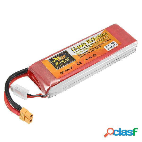 ZOP Power Batería de Lipo de 11.1V 5000mAh 3S 60C Enchufe