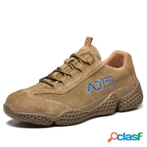 Zapatillas de trabajo de seguridad a prueba de pinchazos con