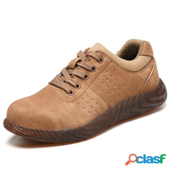 Zapatos de trabajo de seguridad con suela a prueba de
