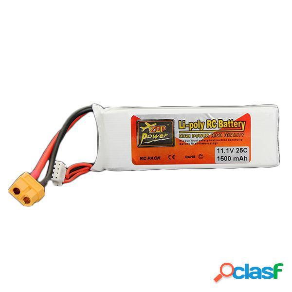 Zop de energía de la batería 3s 25c 11.1v 1500mah XT60
