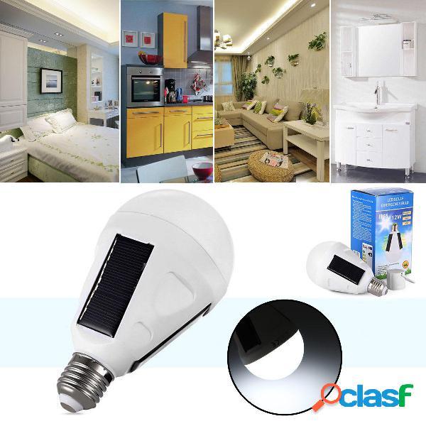 al aire libre 12W Led Solar linterna de tienda de campaña