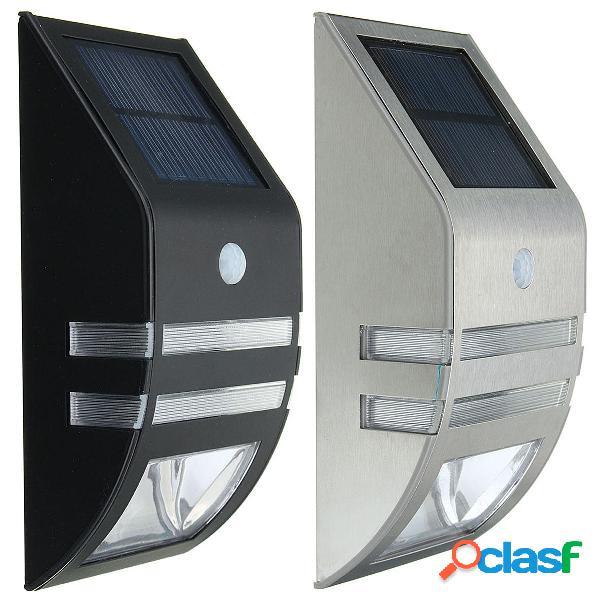 al aire libre Impermeable 2V 0.4W Solar Potencia linterna