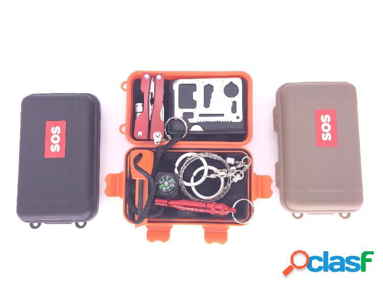 al aire libre Kit de supervivencia de emergencia