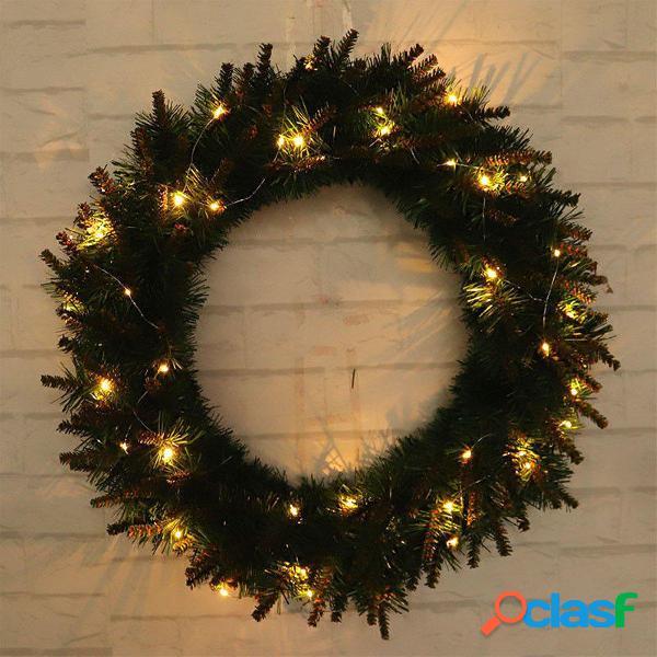 luz LED Guirnalda de Navidad Puerta del árbol Colgante de