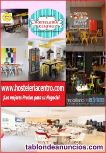 Mobiliario de hosteleria sillas,mesas,taburetes