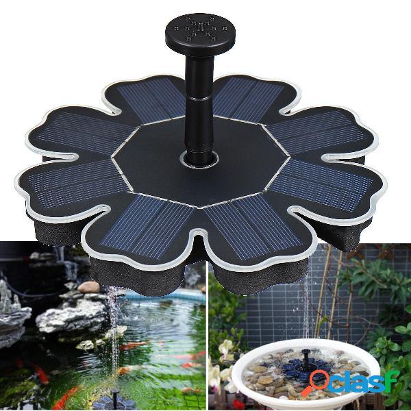 1.6W Solar Potencia flotante para pájaros de agua, fuente