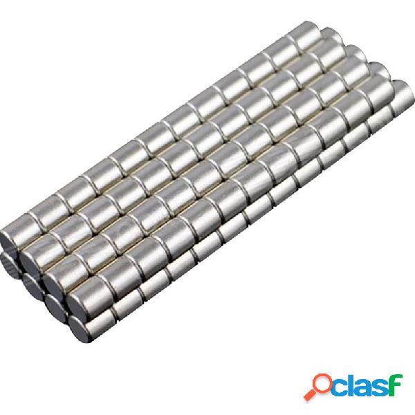 100 pieza de 3 x 3 mm imán de neodimio NdFeB cilindro