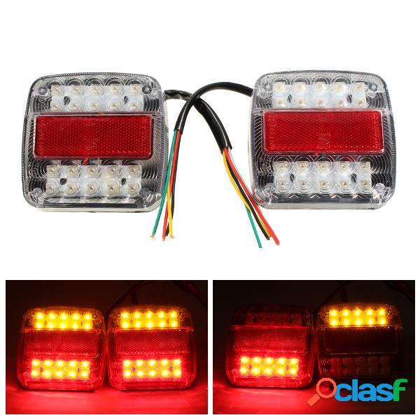 12v LED caravana de remolque de camión dejar de cola